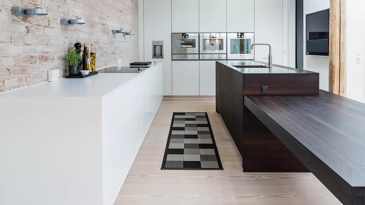 Der Schnitt des Raumes hat einen große Einfluss auf die Küchenplanung.