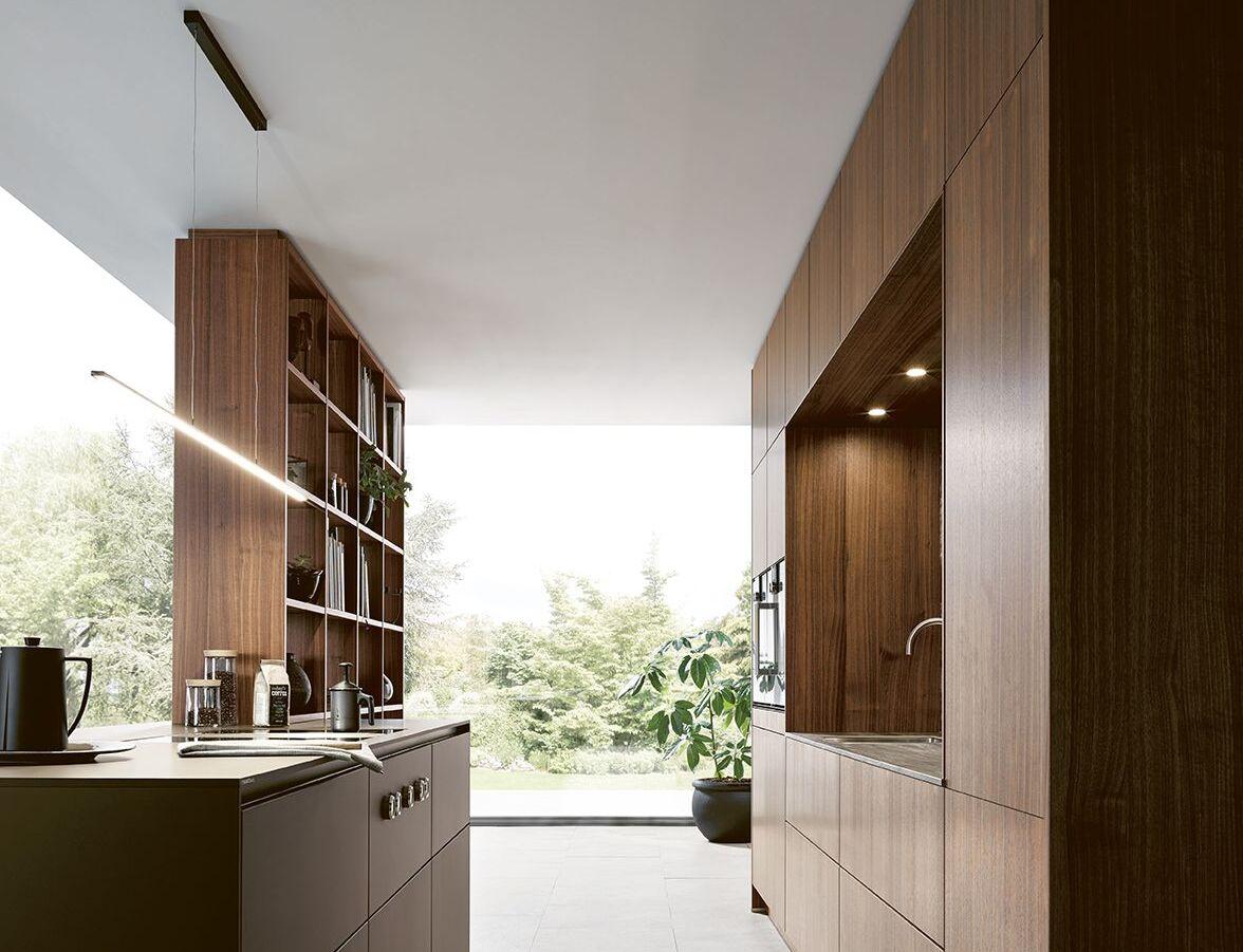 Auch die Arbeitsflächen müssen bei der Küchenbeleuchtung mitbedacht werden.